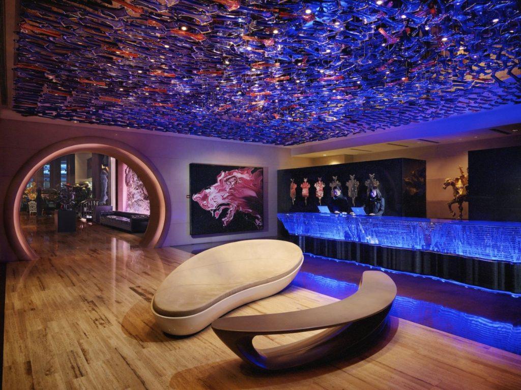 Eclat Luxury Boutique Hotel lobby