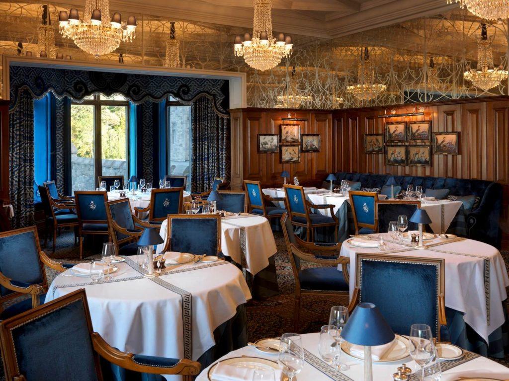 Ashford Castle hotel George V Dinning Room