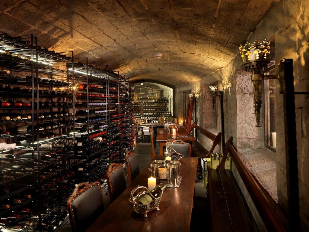 Ashford Castle hotel Underground Wine Celler