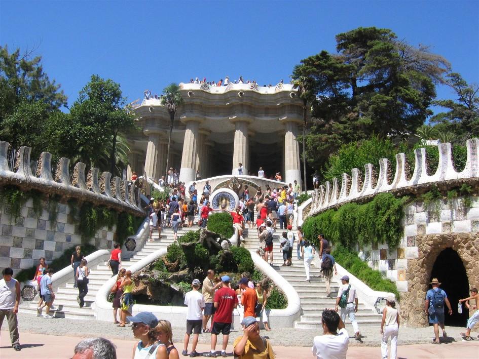 Barcelona travel guide -Park Güell