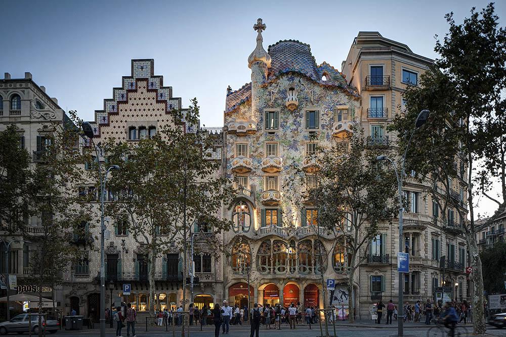 Barcelona travel tips - casa batillo
