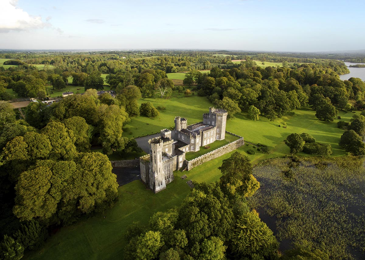 Aerial photography tips castle photographer