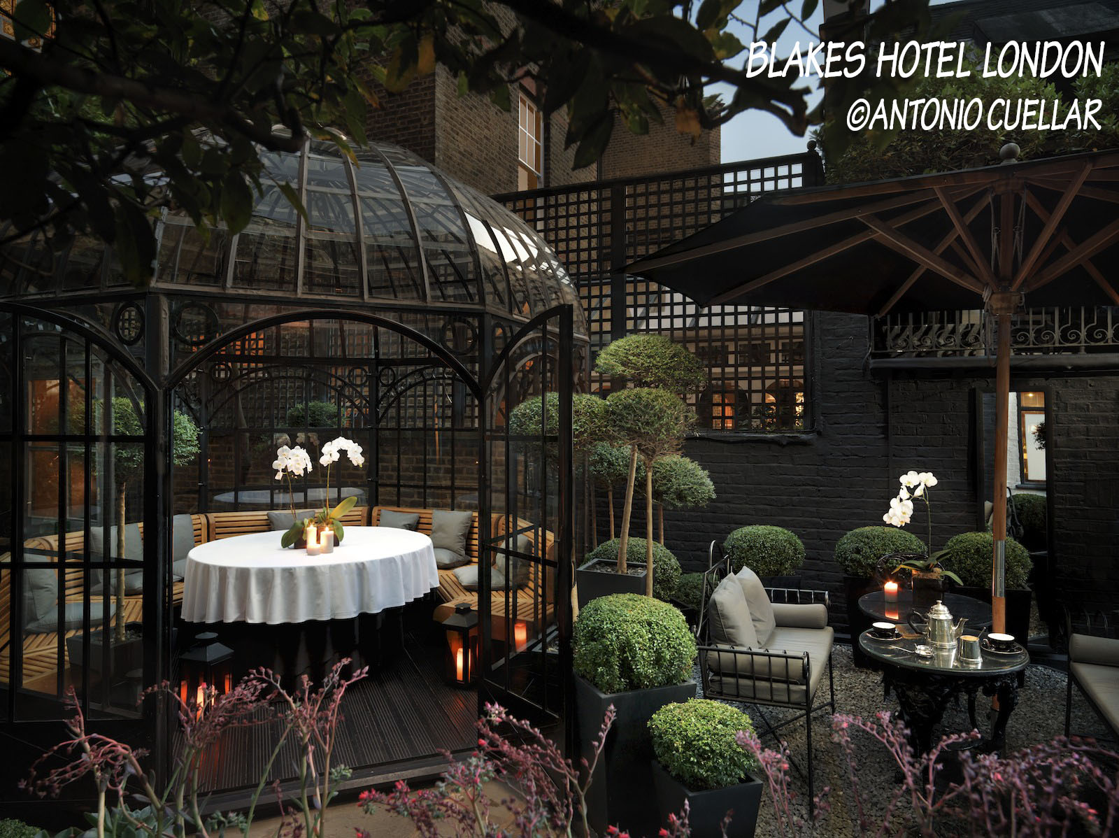 Hospitality industry trends Blakes Courtyard