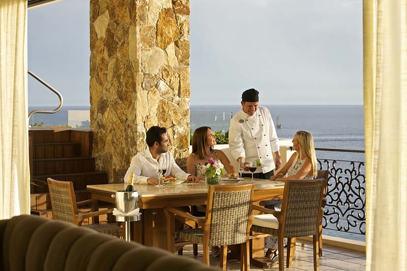 luxury resort hotel restaurant