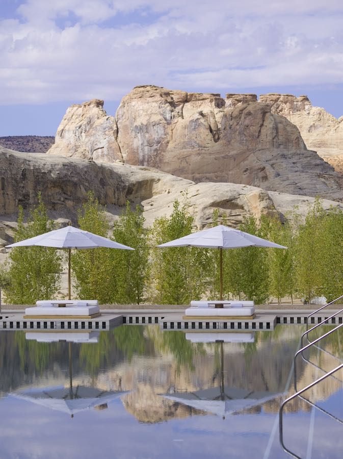 Poolside Day - Photo courtesy of Amangiri