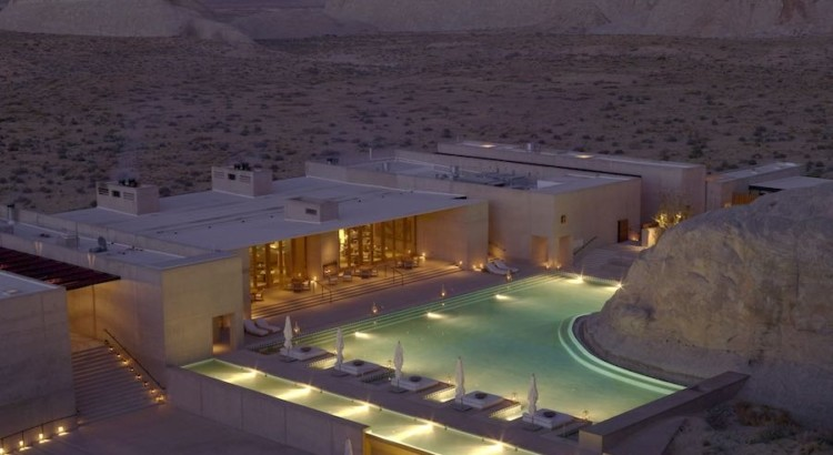 Amangiri luxury resort Utah
