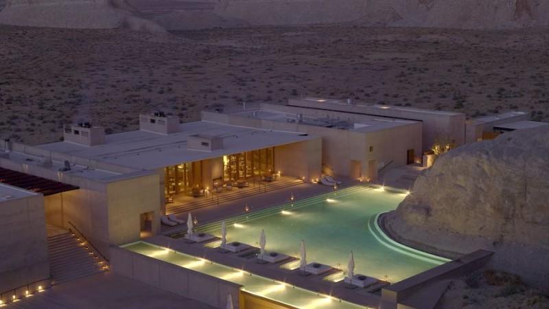Amangiri luxury resort Utah