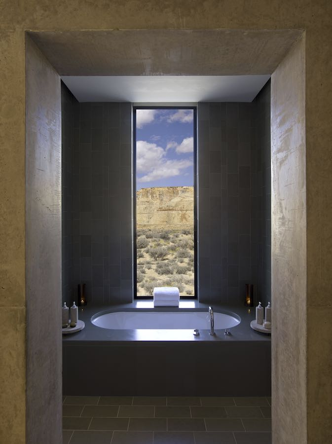Bath Shower - Photo courtesy of Amangiri
