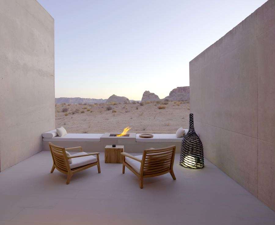 Suite Desert Lounge - Photo courtesy of Amangiri