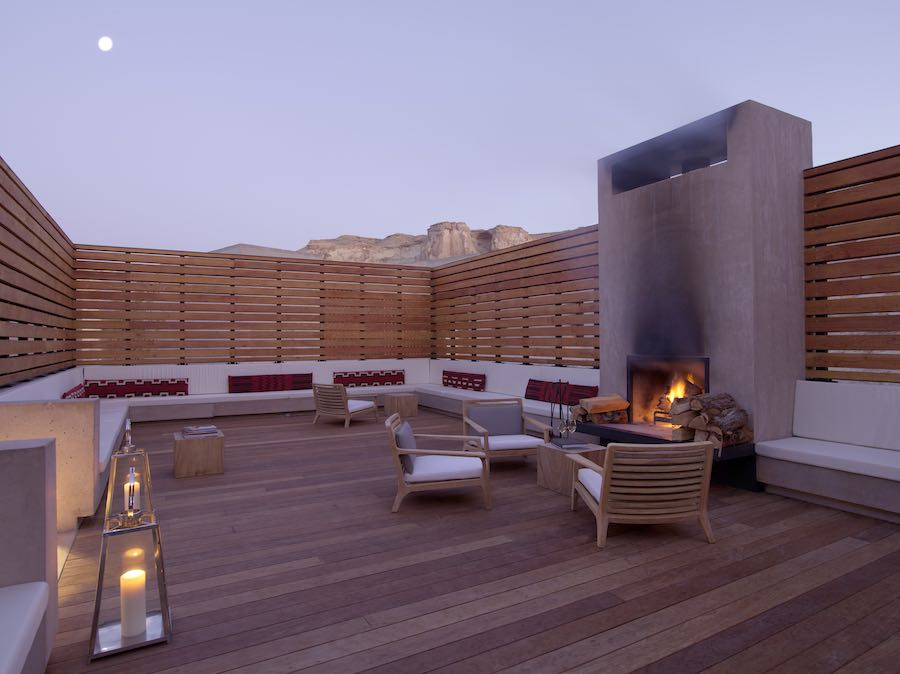 Story Telling Lounge - Photo courtesy of Amangiri