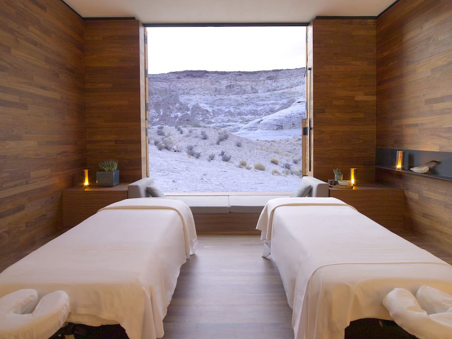 Aman Spa Treatment Room - Photo courtesy of Amangiri