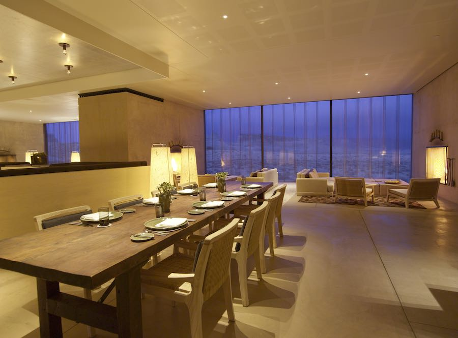 Private Dining Room - Photo courtesy of Amangiri