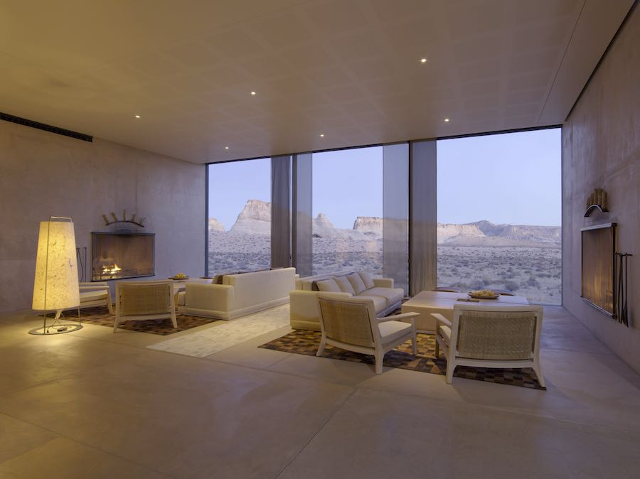 Living Room - Photo courtesy of Amangiri