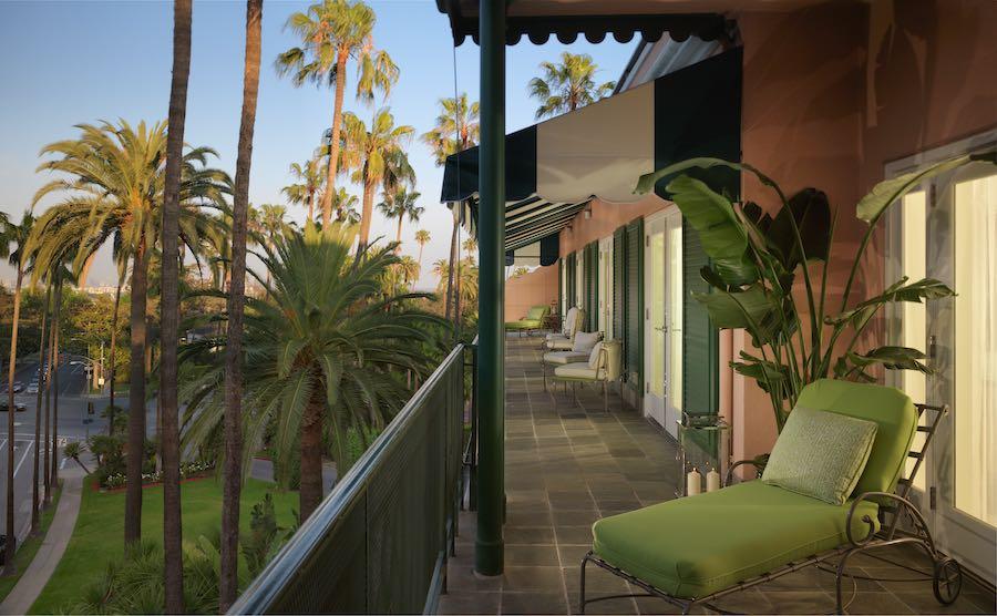 Suite terrace - Photo courtesy of dorchestercollection.com