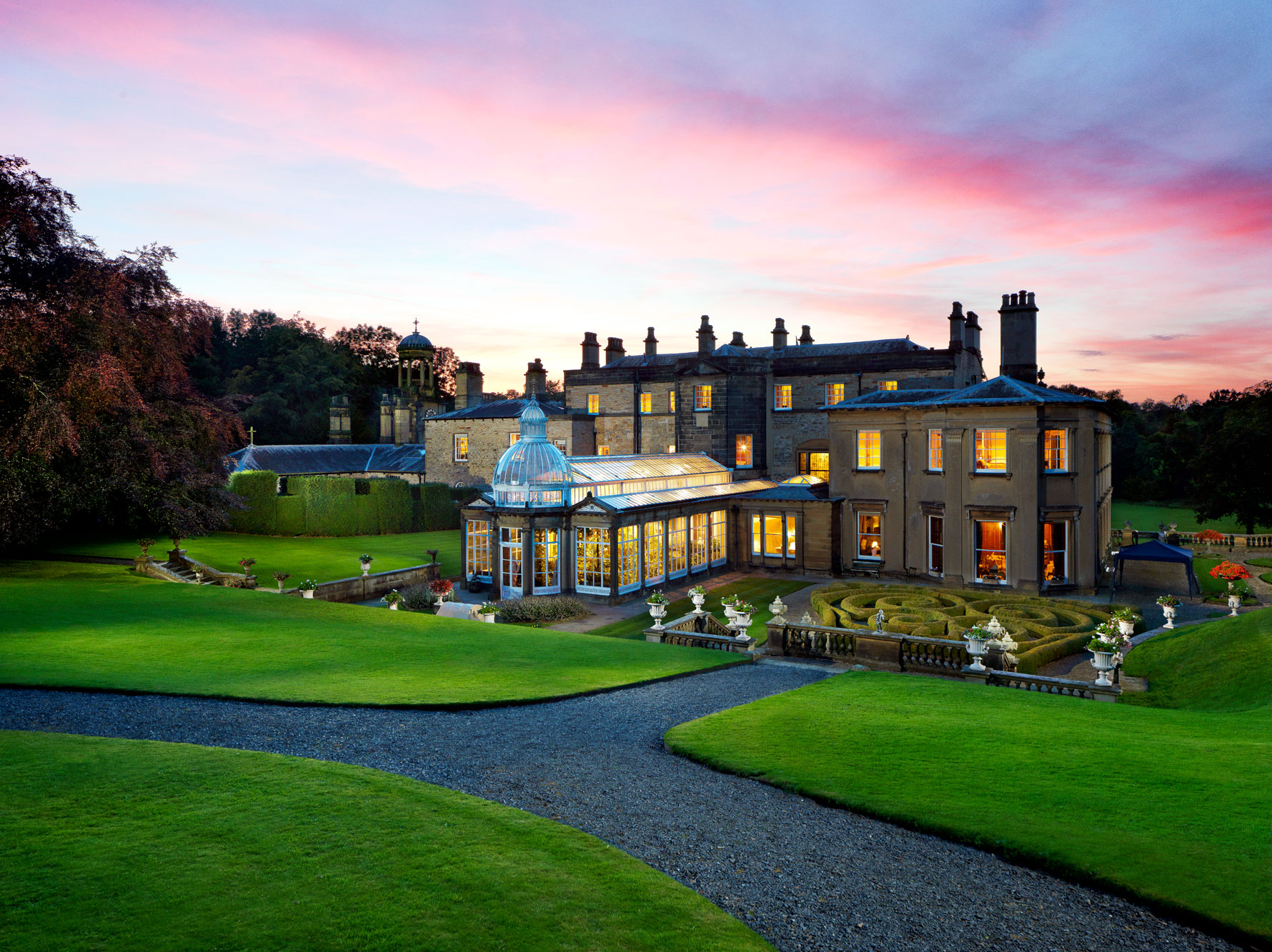 Broughton Hall, UK