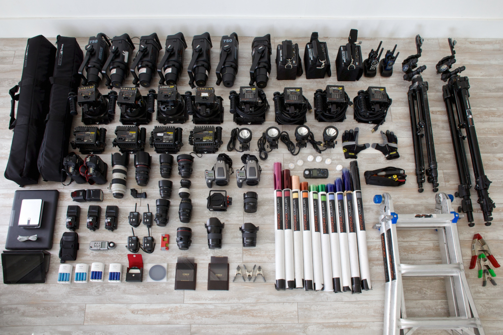 architectural photography equipment