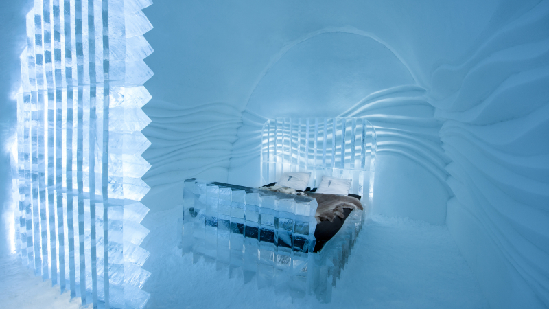 The Icehotel – beautiful unique hotels